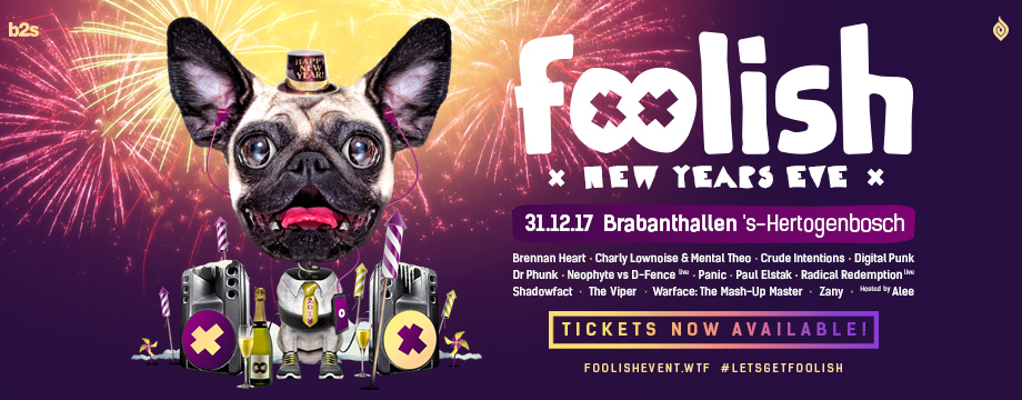 Tickets for Foolish New Years Eve are now on sale!
